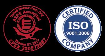 UnitedBreeze_ASCEAccredited_ISO_logo